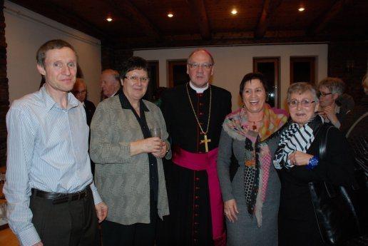 Bild: Treffen der Pfarrgemeinderäte mit dem Bischof