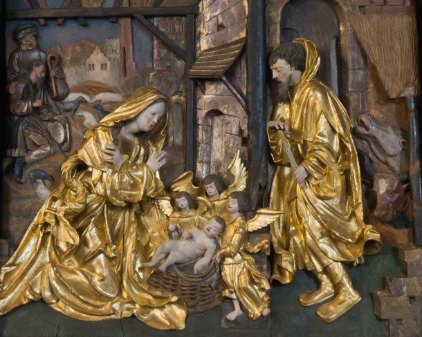 Bild: Bibel aktuell: Weihnachtsbibel Maria Rojach