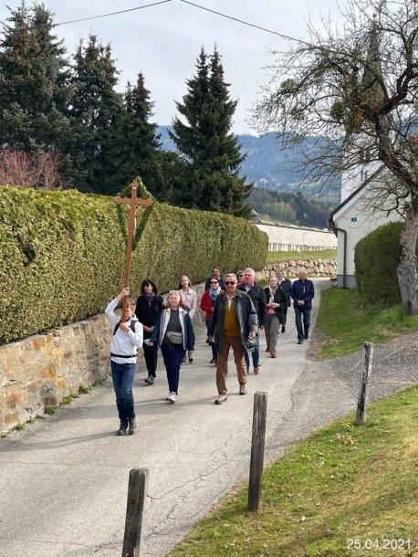Bild: Patrozinium in Wolfsberg: Markusprozessionen und Festmesse in der Markuskirche