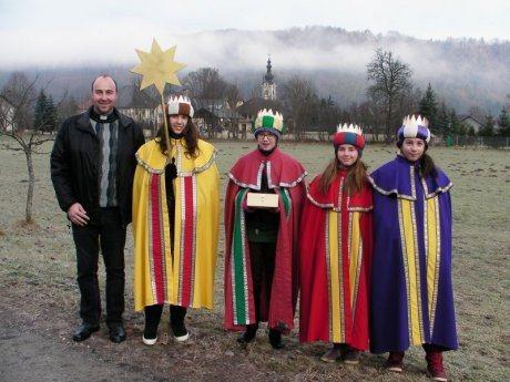 Bild: Dreikönigssingen / Tri kraljevsko petje