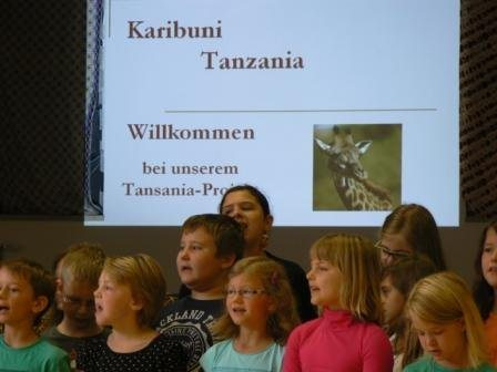Bild: Tansania-Projekttage der VS Paternion