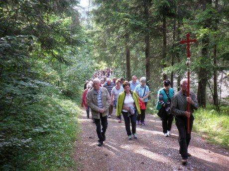 Bild: 30. Dekanatswallfahrt führte nach Bad Bleiberg