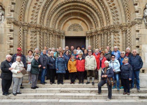 Die Reisegruppe der Pfarre Villach-St. Leonhard Foto: Passant