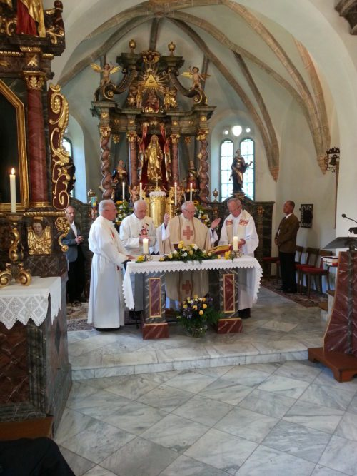 Priesterjubiäum (© Foto: Bernadette Grabner und Margit Müller)
