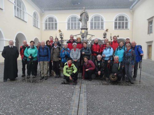 Pilgergruppe in St. Paul (© Foto: fotomw)
