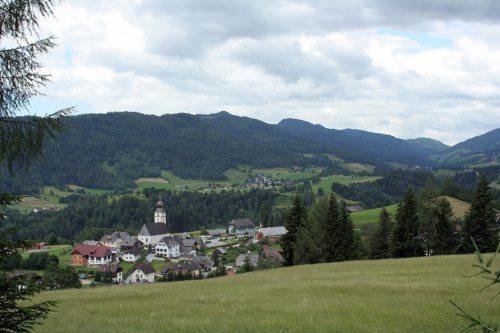 Krakaudorf liegt in der Steiermark zwischen Murau und Tamsweg(kramer1/pixelio.de)