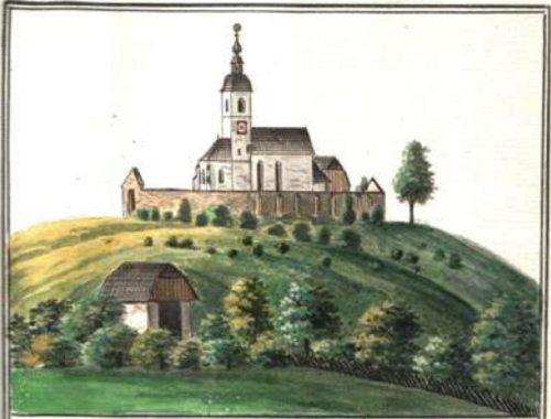 Farna cerkev Št. Jakob (ok. 1200) (© Foto: arhiv krške škofije)