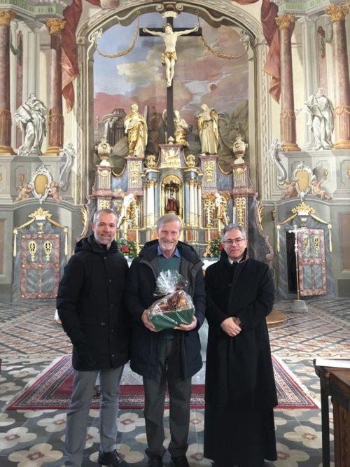 v.l.n.r: PGR Obmann Edwin Wulz, Diakon Josef Darmann und Stadtpfarrer Dechant Dr. Gerfried Sitar
