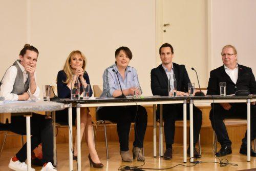 Kaiser, Wolf-Schöffmann, Voglauer, Reiner und Pirker (@ Foto: Kronawetter)