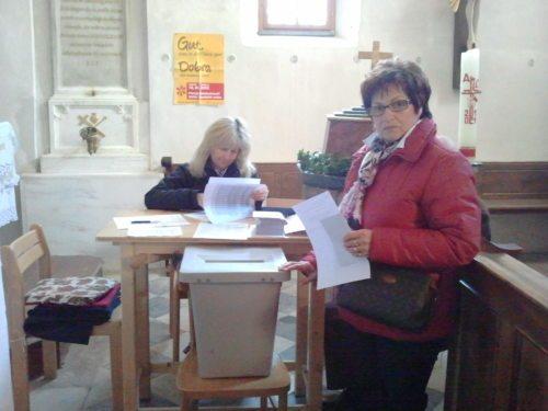Der größte Stimmenanteil fiel auf Annemarie Seidenader und Marianne Tanzer-Strauß (von rechts). Farni sodelavki sta zbrali največ glasov. (© Foto: zp)