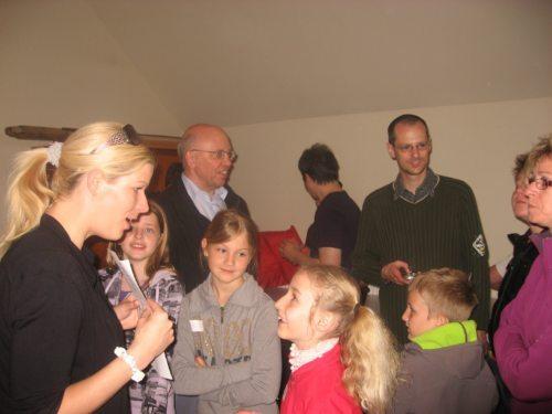 Beginn des Ministrantenfestes in Weißenstein (© Foto: Katholische Jungschar)