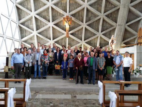 Skupinska slika v svetišču Monte Griso (© Foto: m. dovjak)