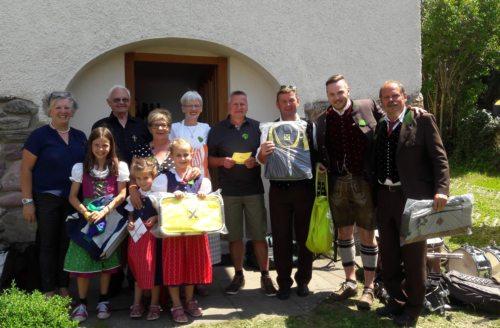 Die Gewinner des Ratespieles (© Foto: Fotos Georg Tangerner und Lydia Messner)