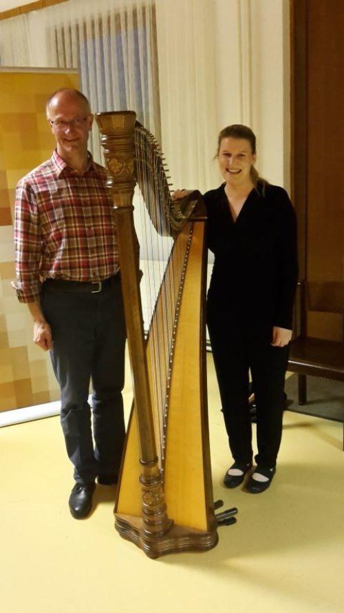Pfarrer Janko Krištof und Elisabeth Goritschnig (© Foto: Helmut Jessner)