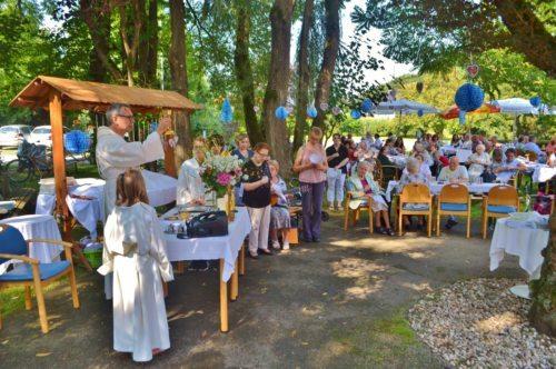 Kirchtagsmesse im Seniorenzentrum Neuhaus in Pudlach (Foto: OStR Mag. Karl Pölz)