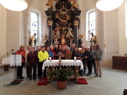 Die Pilgergruppe in der Marktkirche Lavamünd (foto: mw)