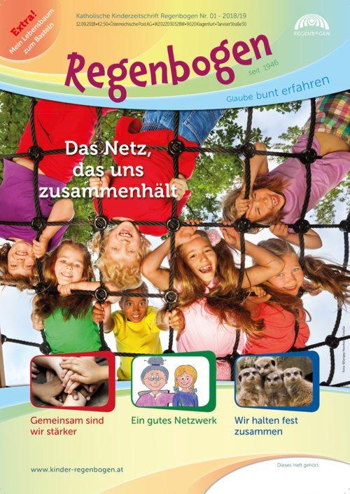 Das Cover der Regenbogenausgabe Nr. 1 - 2018/19 (Foto © Regenbogen)