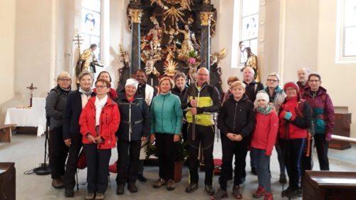 Pilgergruppe in der Marktkirche Lavamünd (foto: mw)