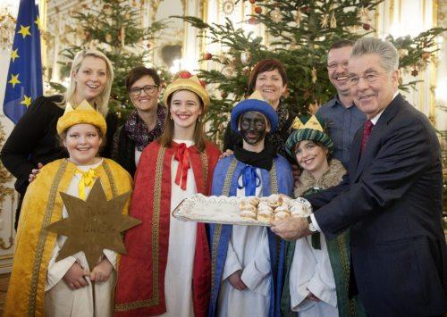 Besuch beim Bundespräsidenten Dr. Heinz Fischer (© Foto: Präsidentschaftskanzlei)