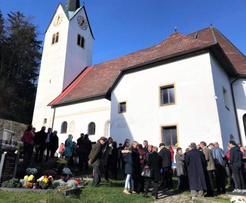 Pfarrpatrozinium des Hl. Martin in Libeliče (Slowenien) • Obisk pri naših sosedih. (Foto: Pfarrarchiv Neuhaus- Suha)