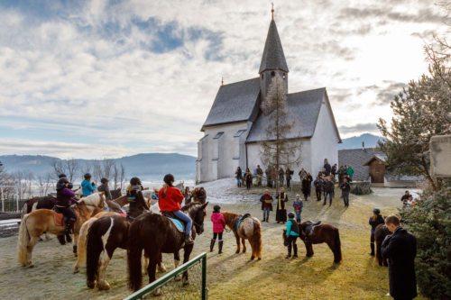 Pferdesegnung Stefanitag 2017 (© Foto: Antonia Posarnig)