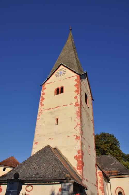 Pfarrkirche Möchling/Mohliče (© Foto: J. Oschwaut)
