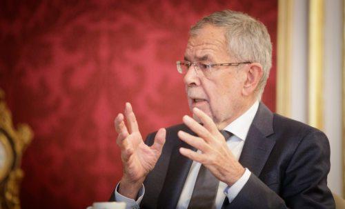 Zvezni predsednik Alexader Van der Bellen (HBF Lechner)