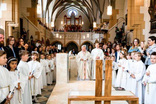 Beginn der Hl. Messe (Foto: tanjaundjosef.at)