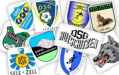 Bild: Die Mitgliedsvereine der DSG Kärnten