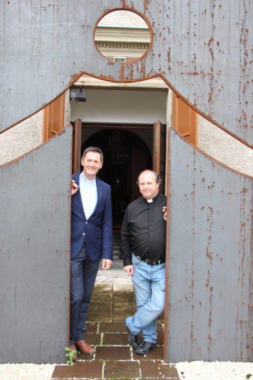 Dompfarrer Peter Allmaier und Stadtpfarrer Gerhard Simonitti möchten ins Gespräch kommen (Stadtpastoral)