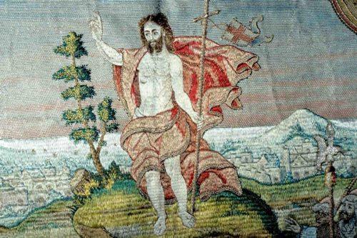 Auferstandener Christus, Hemmaornat. Schatzkammer Gurk; Foto: Pressestelle
