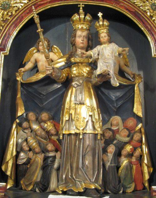 Schutzmantelmadonna Rosenkranzkönigin • Marija zavetnica kraljica rožnega venca (© Foto: M. Golavčnik)