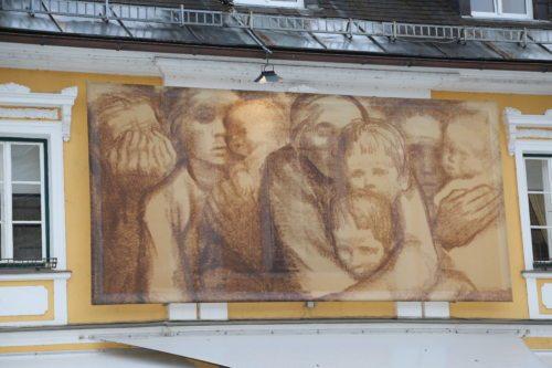Umetnine na pročeljih v Pliberku (Opetnik)