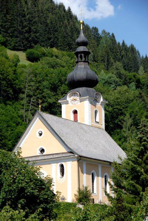 Die Pfarrkirche St. Ulrich in Bad Kleinkirchheim (© Foto: www.wikipedia.org)