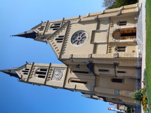 Die Basilika Brestanica (© Foto: Pfarre)