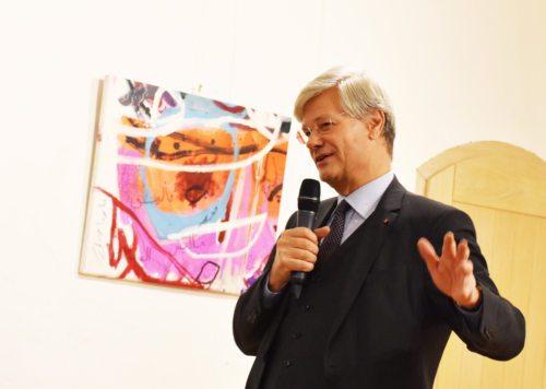 Univ.-Prof. DDr. Matthias Beck referierte beim Modestusfest in Maria Saal (Internetredaktion / KH Kronawetter)