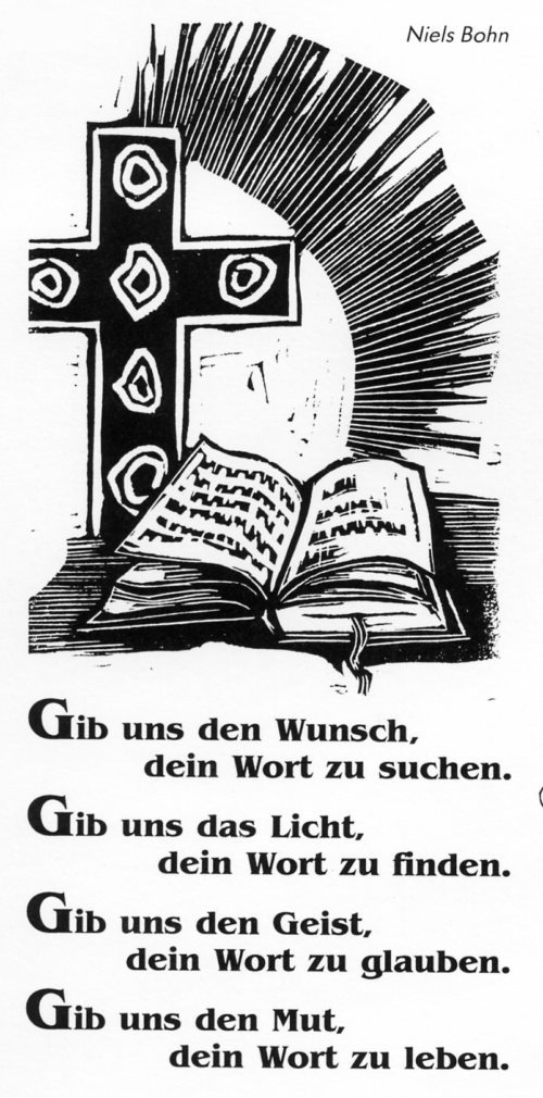 Anregung zum Bibellesen (© Foto: Niels Bohn)