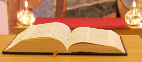 Die Hl. Schrift im Mittelpunkt der diesjährigen Pastoraltage; Foto: Haab