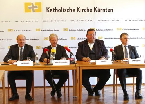 Bilanz-PK im Bischofshaus; Foto: Pressestelle/Eggenberger