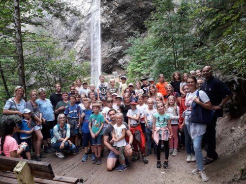 Ausflug der Minis 2019, Wildensteiner Wasserfall © Foto: Redaktion