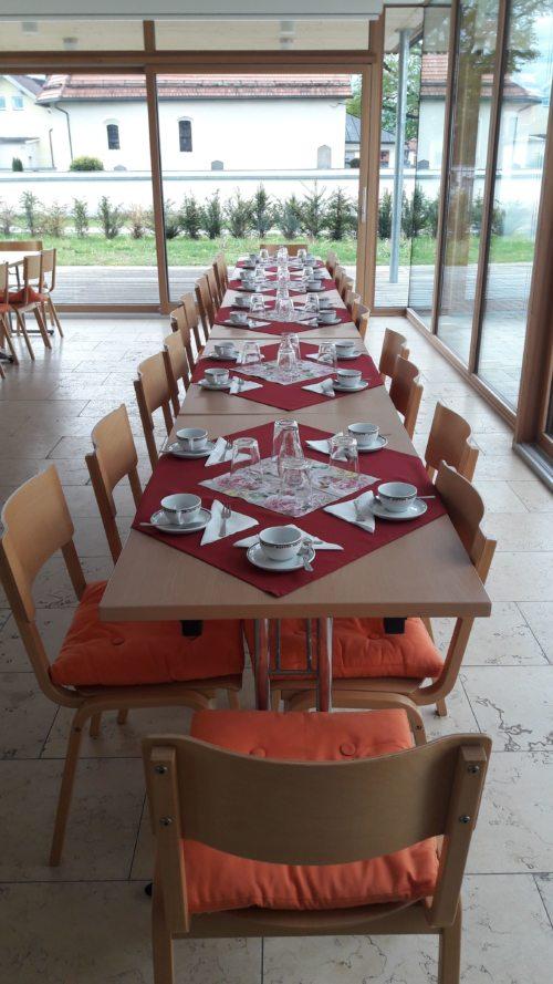 Der Tisch ist gedeckt ...... (© Foto: PT)