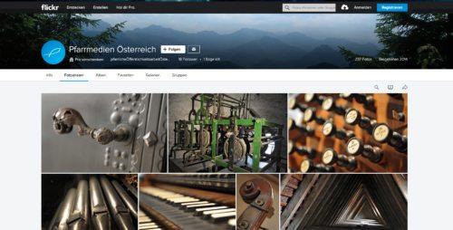 freie Fotos für pfarrliche Öffentlichkeitsarbeiter/innen finden Sie unter www.fllickr.com/pfarrmedien (foto: screenshot der seite)