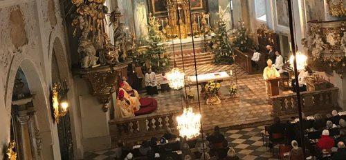 Weihnachten - ein Lebensprogramm – Predigt von Bischof Schwarz am Christtag 2017 im Dom zu Klagenfurt Audio: Dompfarre / Th. Breschan Foto: Internetredaktion / KH Kronawetter
