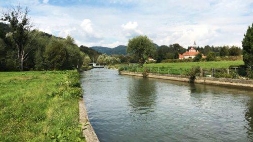Das Wasserkraftwerk Pöckstein - Ökostromerzeugung des Bistums Gurk (Foto: Bistum Gurk / Hofgärtner)