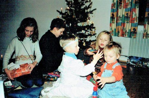 Weihnachten 2002 (Foto: Familie Borstner)