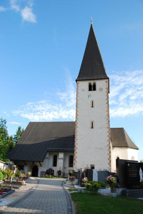 Pfarrkirche Gallizien/Farna cerkev v Galiciji (© Foto: Jähnisch Klaus)