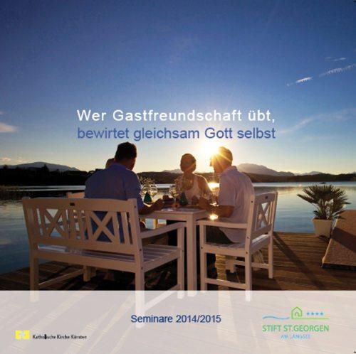 Seminarkatalog 2014/2015 (© Foto: Steinthaler - Kärnten Werbung)