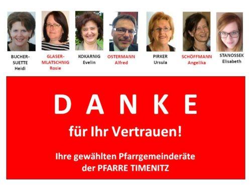 Kandidatenliste (© Foto: PGR)