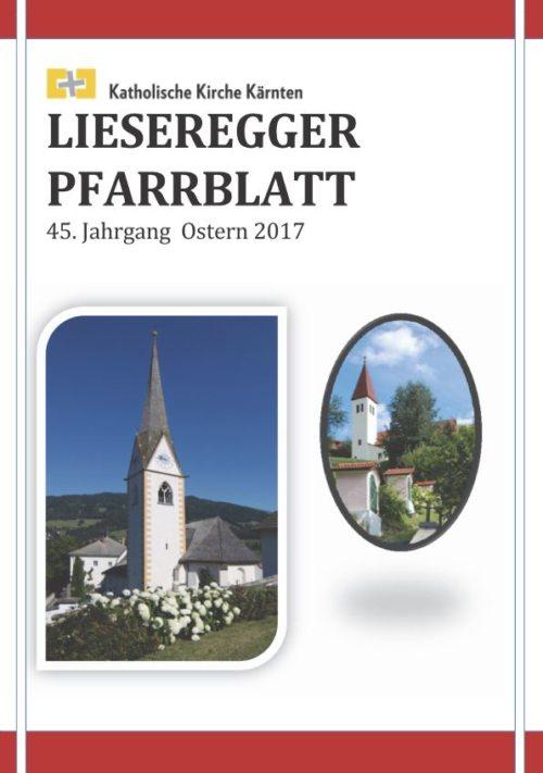 Lieseregger Pfarrblatt (© Foto: Pfarrblattteam)