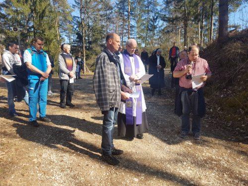 Dekanatskreuzweg • Dekanijski križev pot 2019: Sašo Popijal